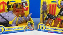 IMAGINEXT MEGA MOUTH SHARK BILLY JONES AND TRIPLE CANNON PIRATE HIGH SEAS ADVENTURE - UNBOXING
