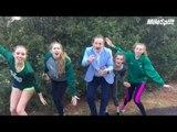 Run Junkie HS: Shen Girls Dance to US #2 & DJ Principe Co-Hosts
