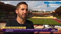 """João Moutinho: """"Sporting ou FC Porto? Quero que ganhe o FC Porto."""""""