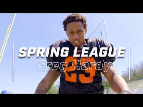 Greg Hardy Is Focused On The Spring League