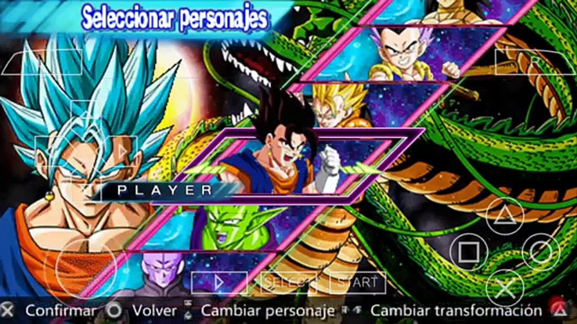 Saiu!!!Download do Dragon Ball Z Shin Budokai 5 para qualquer celular  (emulador ppsspp)