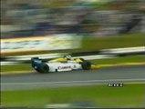 Gran Premio d'Europa 1985: Intervista a N. Piquet e ritiro di Alboreto