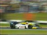 Gran Premio d'Europa 1985: Incidente di Capelli