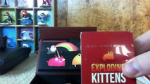 Exploding Kittens (+nsfw deck) Unboxing!
