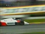 Gran Premio d'Europa 1985: Sorpassi di Laffite a Prost e Johansson e di Surer a De Angelis