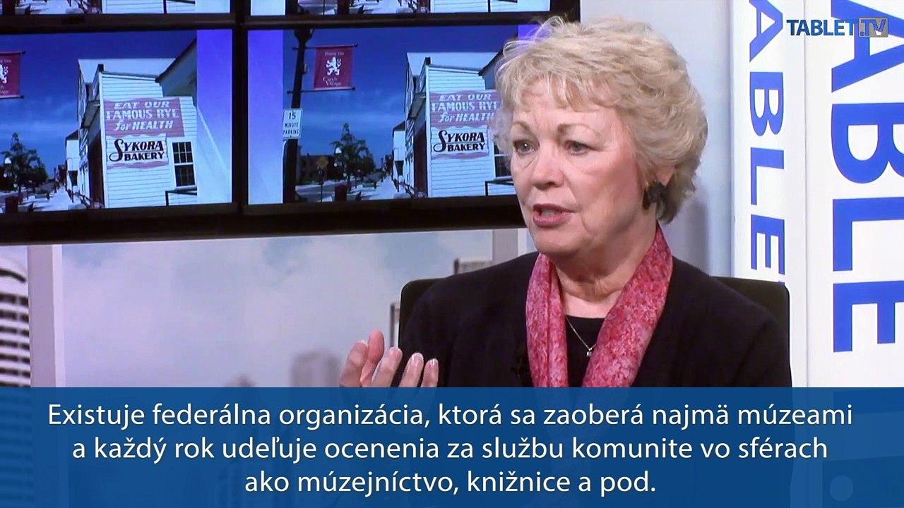 SVET TU A TERAZ: Gail Naughtonová, riaditeľka National Czech and Slovak Museum and Library hosťom Pavla Demeša