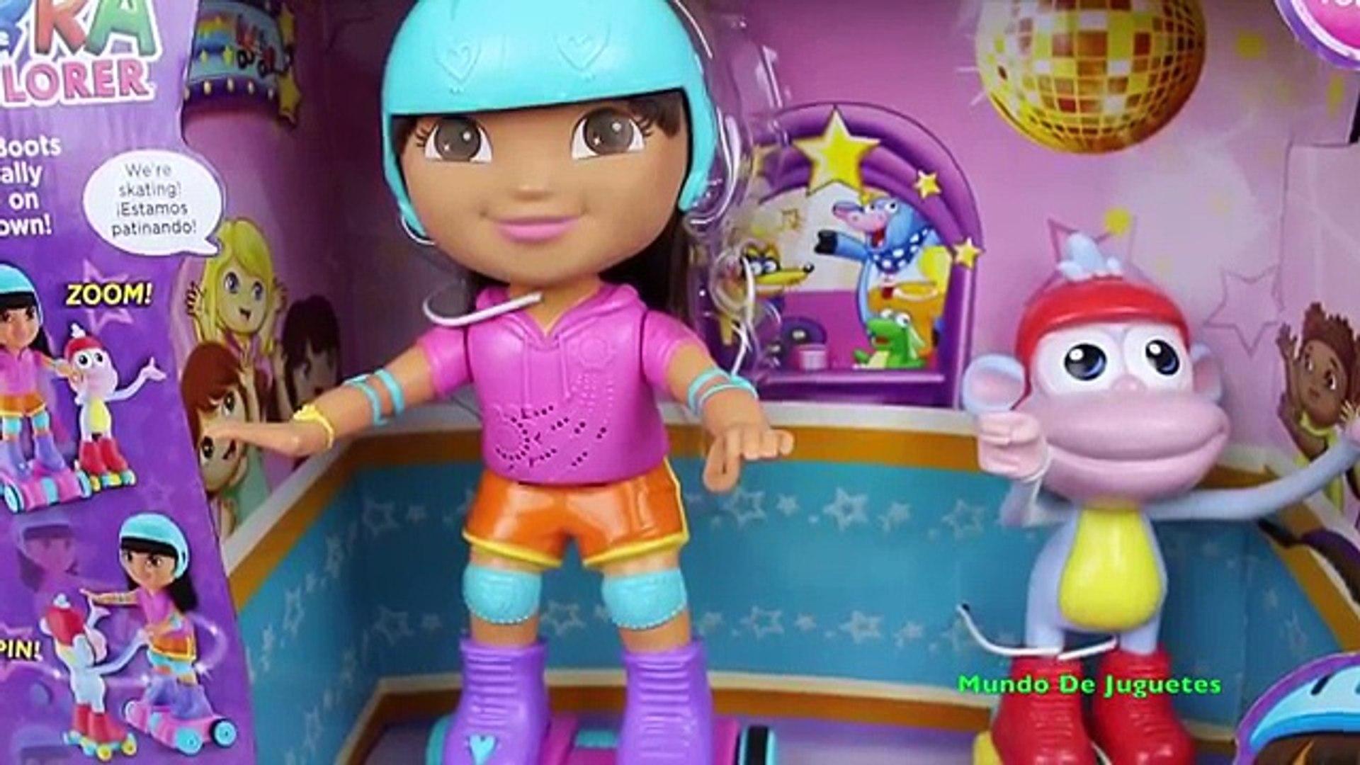 Juguetes Exploradora De Patinadoraskateamp; La Dora Spin Boots Tl1JcKF