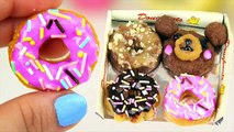 DIY MINI EDIBLE DONUTS! Make Tiny Donuts | Popin Cookin!