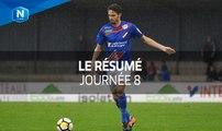 Championnat National 2017-2018,  8e journée : tous les buts I FFF