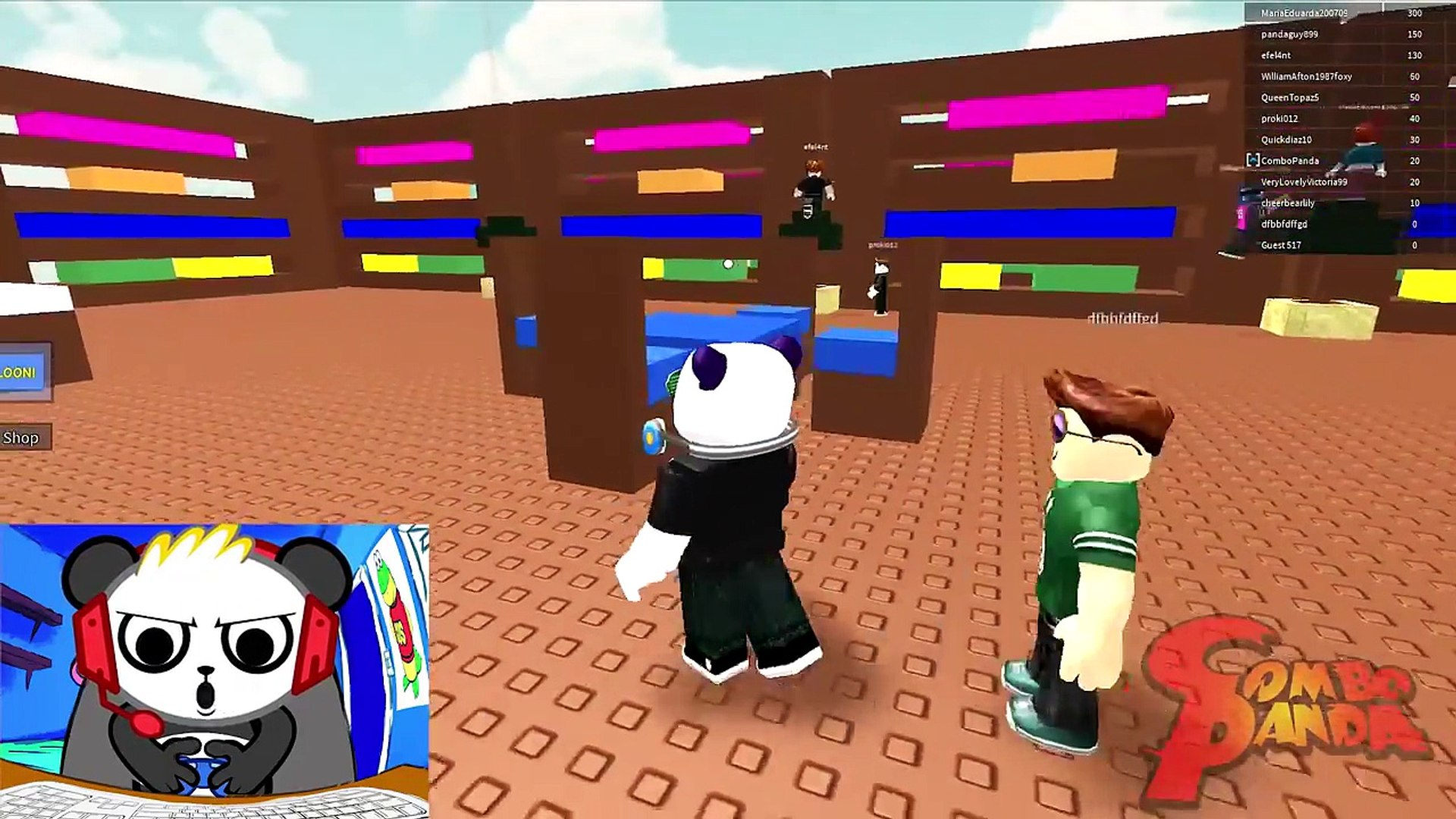 Death By Lava Roblox Roblox The Floor Is Lava Let S Play With Combo Panda Dailymotion Video
