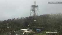 Hurricane Maria completely destroys NEXRAD dome in Puerto Rico