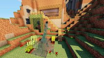 Minecraft Advanced Mountain Cliff Cave House Build Tutorial