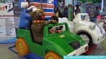 Amusement Center: Ferris Wheel, Kiddie Car Ride and Arcade Game Playtime Fun!