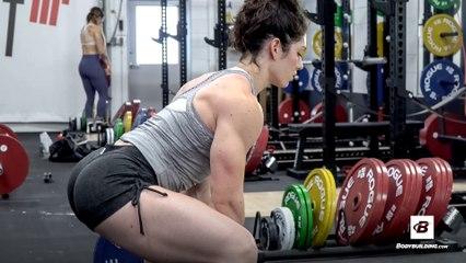 Leg Day with Natasha Aughey | Powerlifter