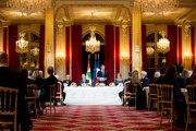 Allocution du Président de la République, Emmanuel Macron, lors du diner d'État avec le Général Michel Aoun, Président de la République libanaise.