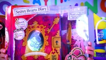 EVER AFTER HIGH TOYS Secret Hearts Diary DoLLS PTU LIZZIE HEARTS Unboxing Toys