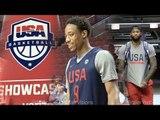 Team USA Chicago  Practice, Shootaround,  & Interviews   Team USA in Chicago