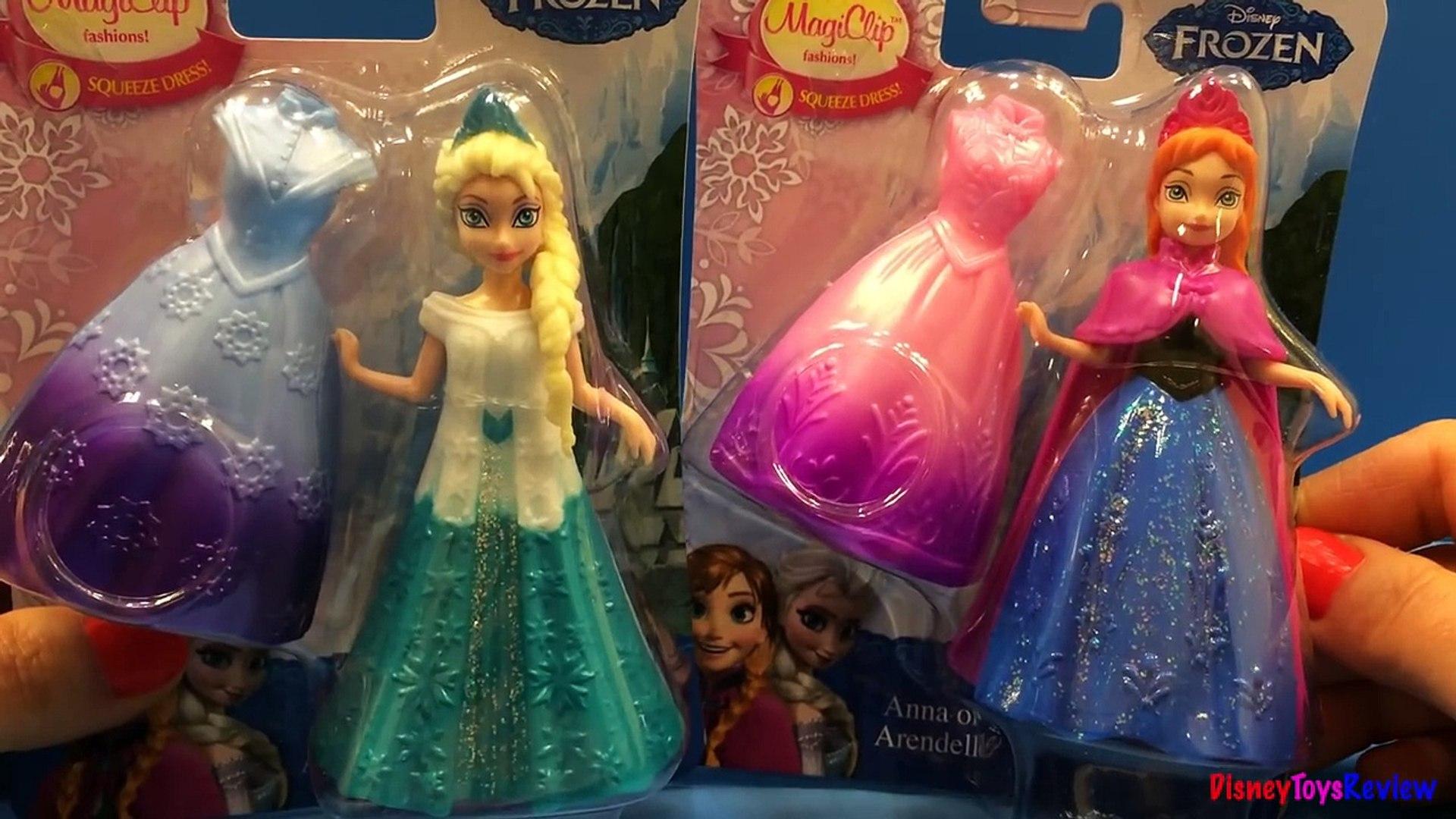 Disney Pixar Frozen Anna Elsa Magiclip Fashion Dolls See Elsa From The Disney Frozen видео Dailymotion