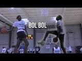 Bol Bol Is a CHEAT CODE | Manute Bol's 7 Foot Son DESTROYS Top Rank Showcase With Ease