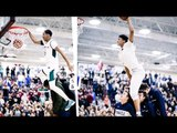 Andre Ball Dunks Over Shareef O'Neal & Big O! | DUNK CONTEST Ira Lee VS Andre Ball