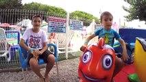 VLOG - JEUX DEAU FUN à AQUA DINO - Parc de Jeux - Ile Des Loisirs Cap dAgde