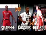 Bol Bol Shareef O'Neal & Spencer Freedman On SAME Team VS Cassius Stanley! Cal Supreme v Earl Watson