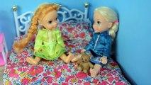 Anna And Elsa Toddlers Make BIG MESS! - frozen anna and elsa