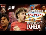 THE QUEST FOR LAMELO - Bol Bol, Shareef, Cassius & BIG BALLERS Link Up on Vegas Strip!