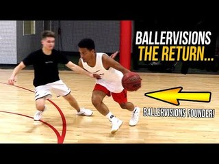 I CAN HOOP TOO BALLERVISIONS BACK IN THE GYM + FACE REVEAL PT.3 Workout w/ Pro Trainer!