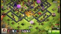 Clash Of Clans   Power DE Farming With Healer Queen Super Queen