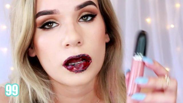 100 Layers of Liquid Lipstick!! (SO WEIRD)