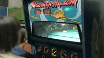 Игровые автоматы прошлого века. Играем в ретро игры СССР. На чем играли наши родители. Ретро-музей.