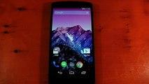 Google Nexus 5 - Paranoid Android 4 6 BETA 4 ROM review - video