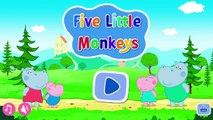 Peppa Pig Harriet Hippo Five Little Monkeys - best app games for kids - Philip