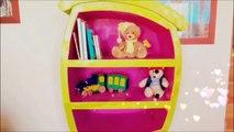 DIY crafts: how to make a cardboard cartoon furniture - handmade - Youtube - Isa ❤️