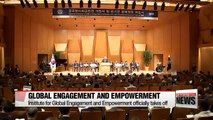 Institute for Global Engagement and Empowerment officially kicks off at Yonsei University