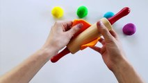 Fun Learn Colors for Toddlers with Play Doh Stars Stop Motion Animation