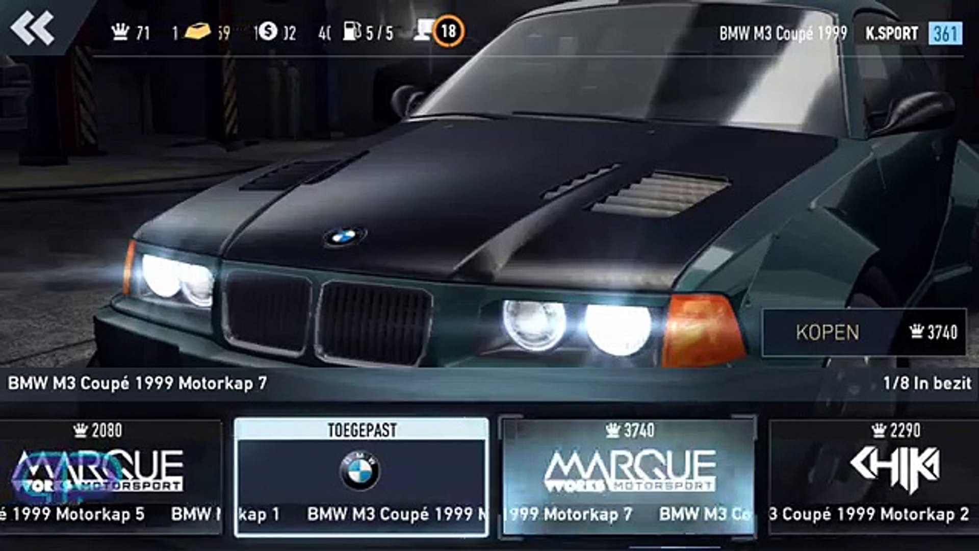 Need For Speed No Limits Bmw M3 Coupe 1999 Customisation