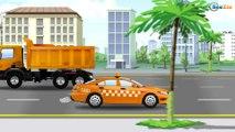 La Voiture de police - Dessin animé francais, voitures Policier et voitures Transport