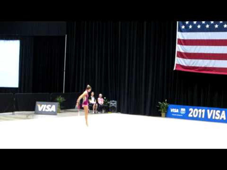 Polina Kozitskiy - Hoop - 2011 Visa Championships