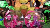 Monkey Business 6: My Little Pony Pinkie Pie & Wysteria Glitter Genies MLP Toy Review Parody Spoof