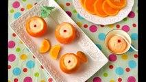 Easy Orange Ice cream   Orange stuffed with icecream  no cooking no icecream machine recipe