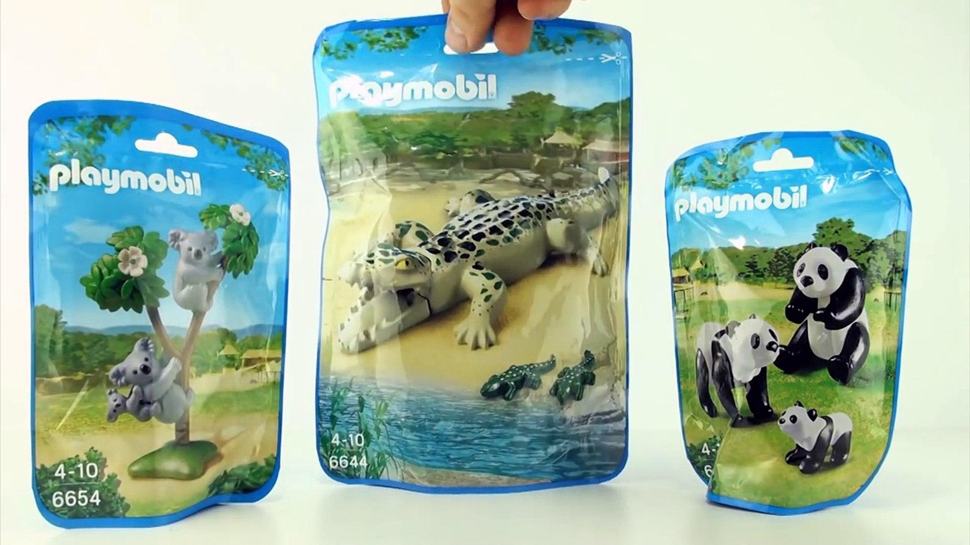 Playmobil Animals Wild Life Zoo City Life Lion Family