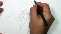 How to Draw a Cartoon Spider Video - Draw Halloween Things | MAT