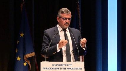 Discours d'Yves JEGO, 2ème Vice président du Parti Radical - Journées d'été du Radicalisme et des Progressistes