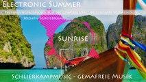 Gemafreie elektronische Musik / Chillout Musik - Sunrise von Jochen Schlierkamp (Album Electronic Summer) - für Wellness, Hintergrund uvm.