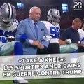 «Take a Knee»: Les sportifs américains en guerre contre Trump
