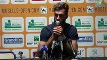 ATP - Metz - En Moselle, Benoît Paire avait remercié Gaël Monfils, son team et sa famille, mais pas Shy'm