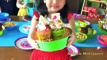 Little Chef Baking Party! Cupcake Decorating Party , kids baking and cooking