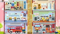 Fire Engine & Firefighters - FIRE TRUCK FOR KIDS: Little Fire Station | Games, Cartoons For Children